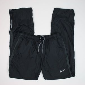 NIKE Dri-Fit Running Wind Pants w/ Leg Zips MEDIUM